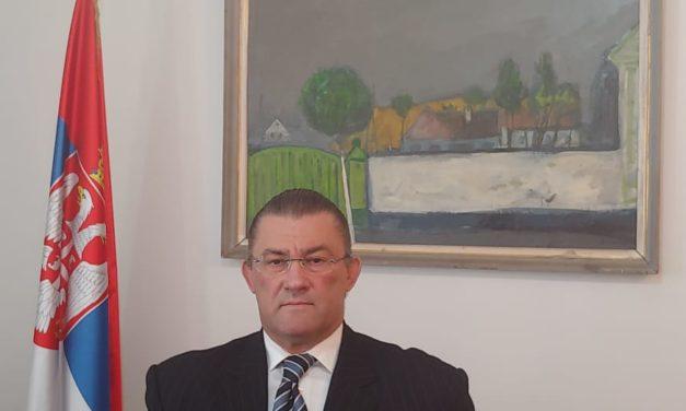 THE AMBASSADOR OF SERBIA