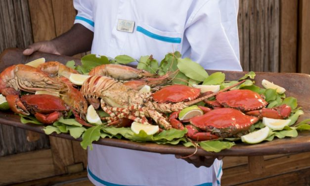GRILLED CRAB – MOZAMBIQUE