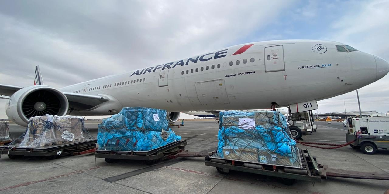 FRENCH COVID-19 DONATION ARRIVES IN SOUTH AFRICA