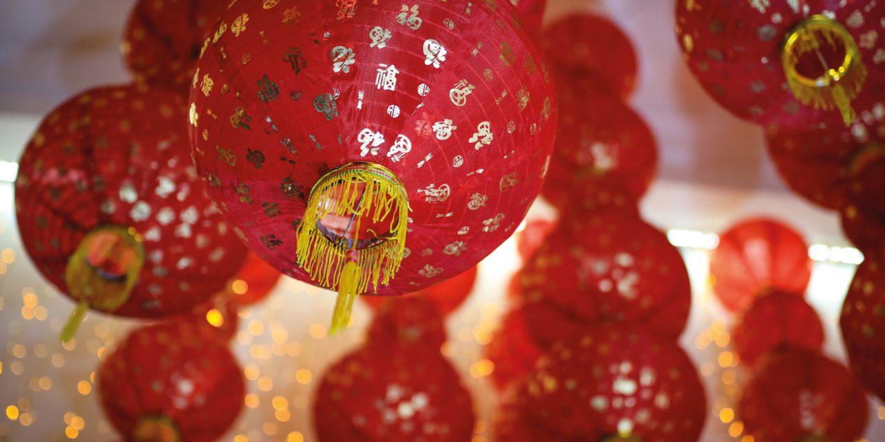 "Happy Lunar New Year, ""Gong hei fat choy"""